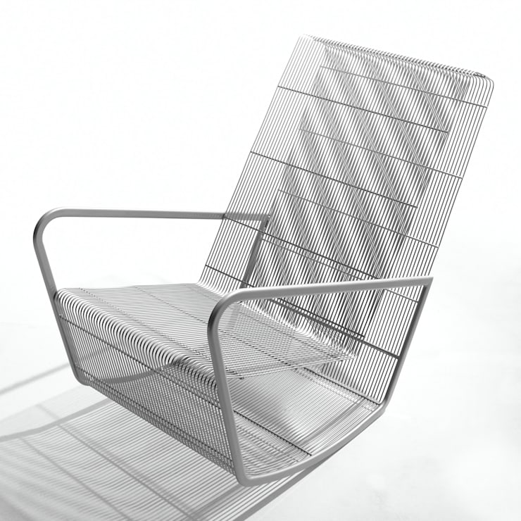 Wire rocker:  Living room by Egg Designs CC