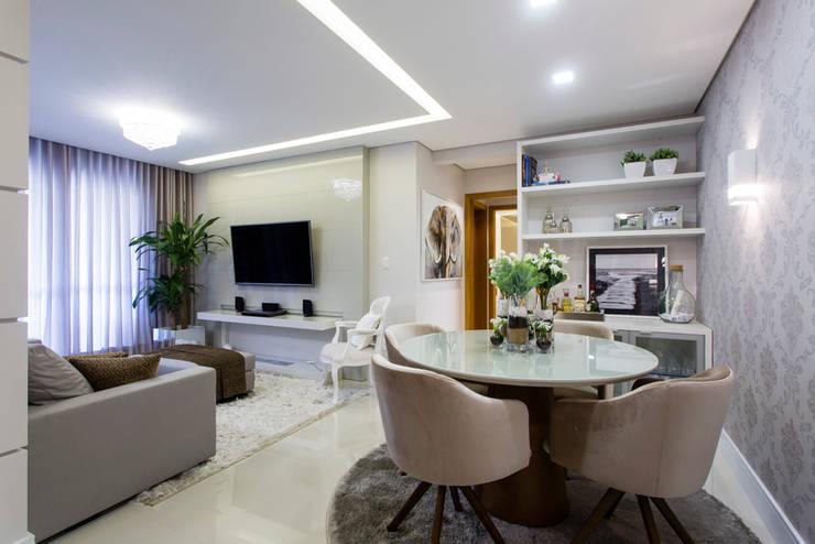 Столовые комнаты в . Автор – Join Arquitetura e Interiores, Модерн