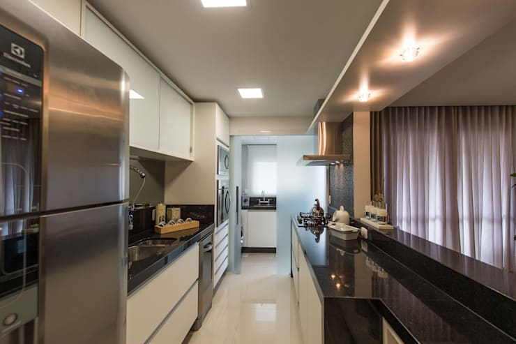 Кухни в . Автор – Join Arquitetura e Interiores, Модерн