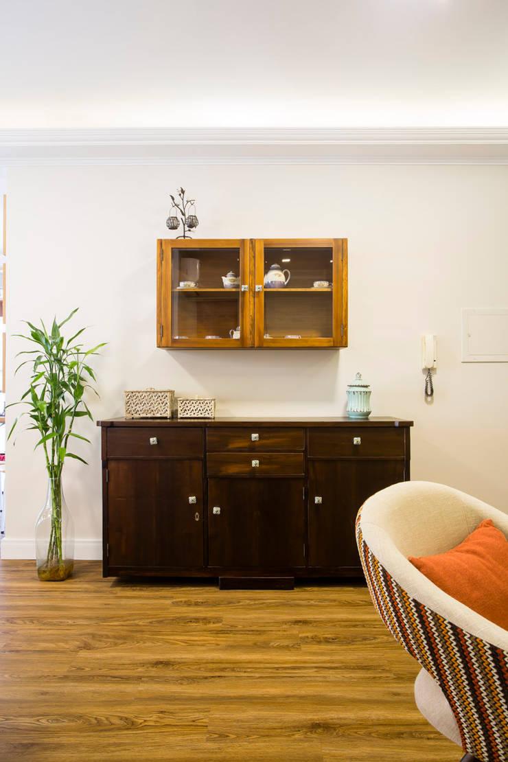 Salle à manger rustique par Join Arquitetura e Interiores Rustique