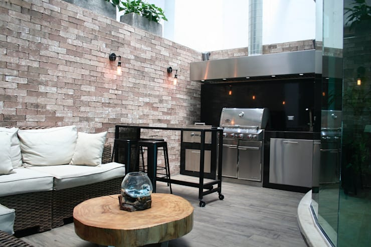 Terrazas de estilo  por Diseño 102