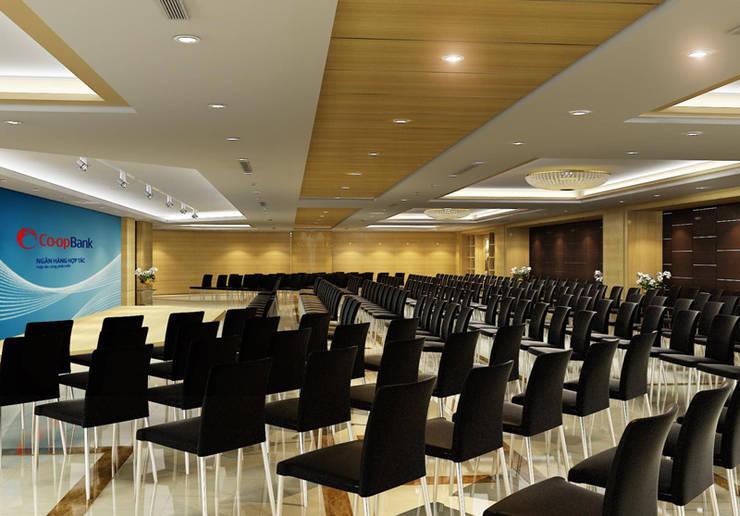 Thiết kế thi công nội thất văn phòng ngân Hàng Co-op Bank:  Dining room by Nội Thất TNC
