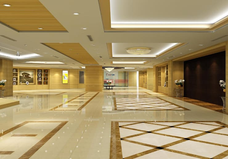 Thiết kế thi công nội thất văn phòng ngân Hàng Co-op Bank:  Artwork by Nội Thất TNC