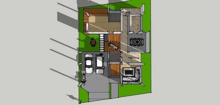 บ้าน2ชั้น 4ห้องนอน 5ห้องน้ำ:   by iamarchitex