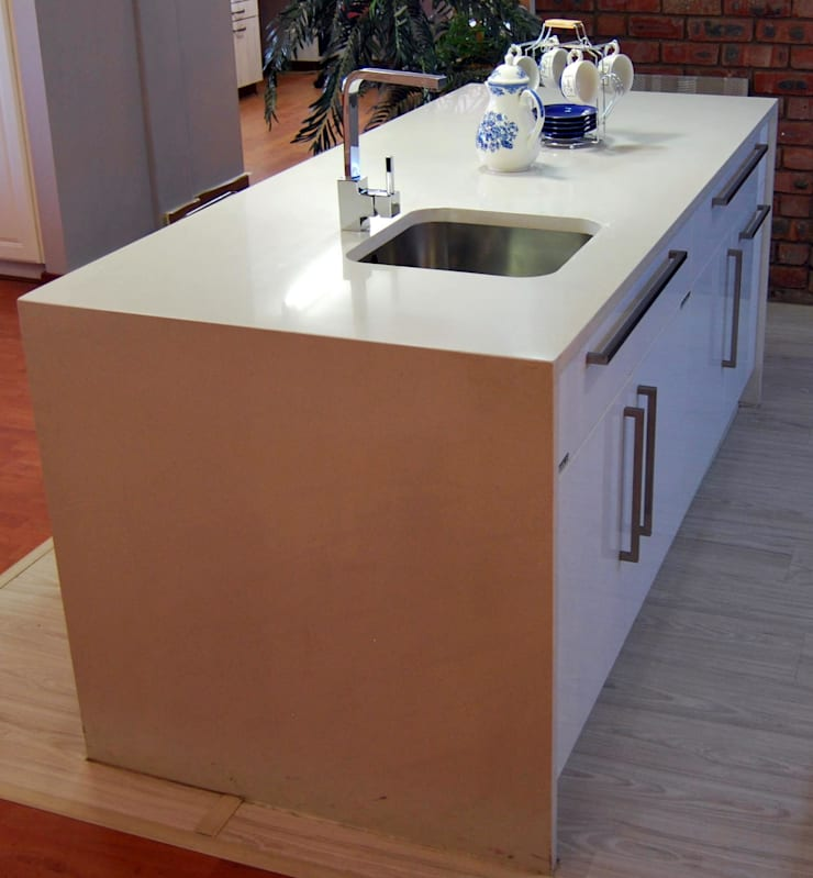 Showroom Revamp:  Kitchen by Capital Kitchens cc