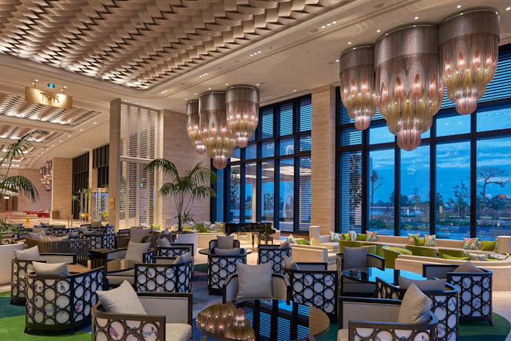 Crown Towers Perth - Lobby: eclectic  by willowlamp, Eclectic