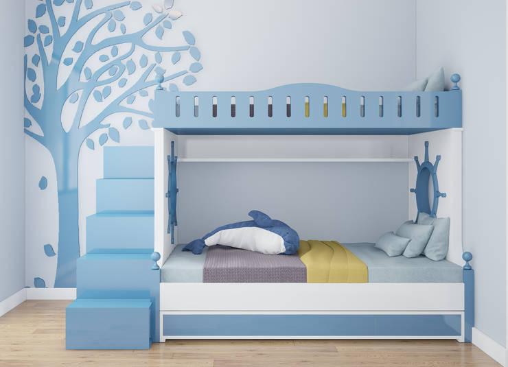 Phòng ngủ trẻ em:  Kitchen by Công ty TNHH Thiết Kế và Ứng Dụng QBEST