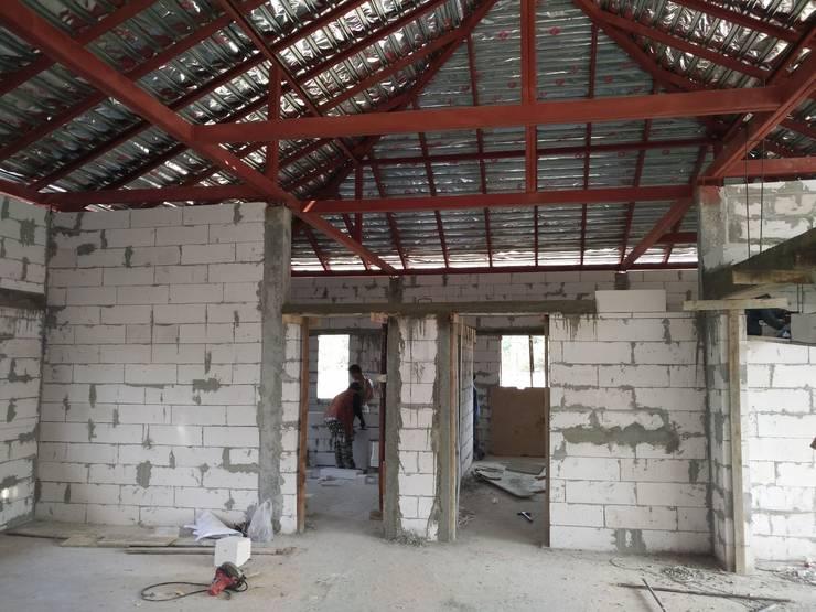 ผลงานสร้าง 45 วัน:   by D-Built รับออกแบบสร้างบ้าน