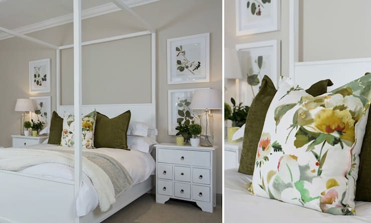 Recent Decorating Projects—Joseph Avnon Interiors:  Bedroom by Joseph Avnon Interiors