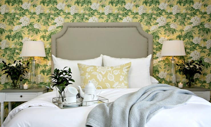 Recent Decorating Projects - Joseph Avnon Interiors:  Bedroom by Joseph Avnon Interiors