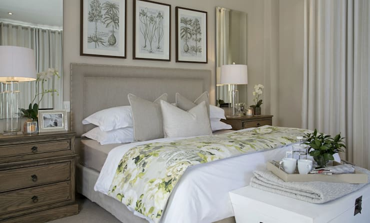 Bedroom by Joseph Avnon Interiors
