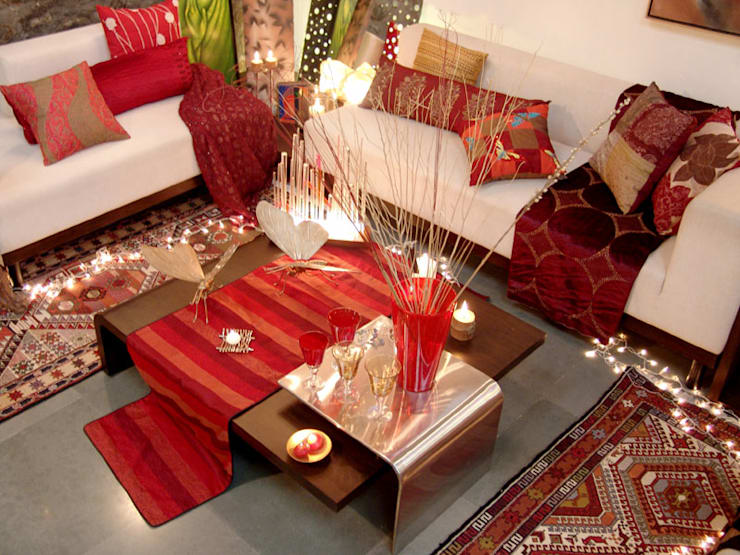Home projects: classic Living room by Zeba India Pvt. Ltd.