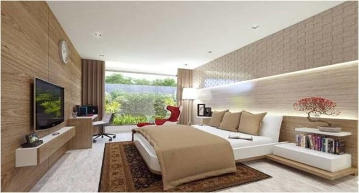 Bedroom by Aripan Design