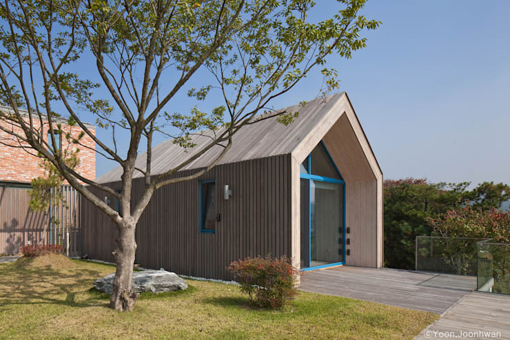 Casas de estilo  de 솔토지빈