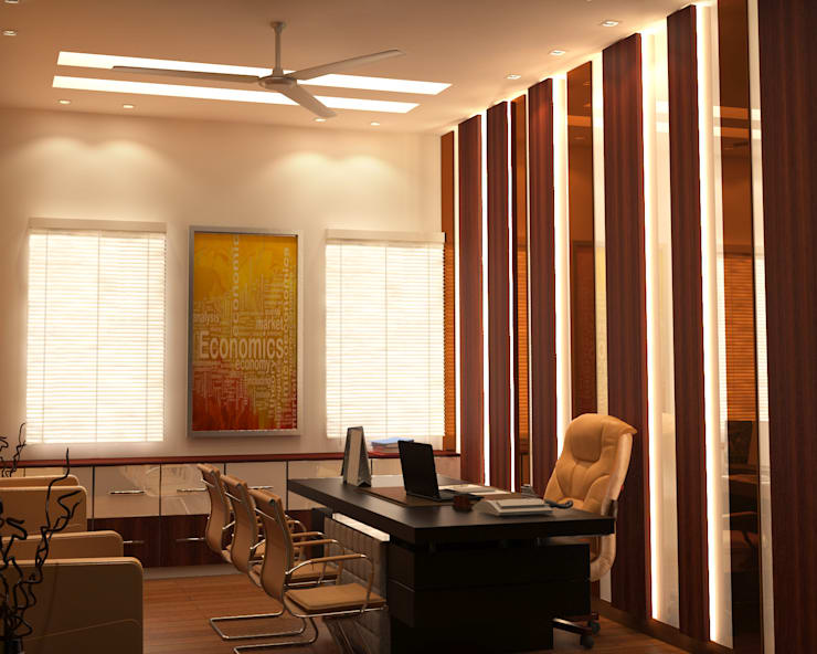 PKS Office Noida Sec-63:  Offices & stores by Design Essentials