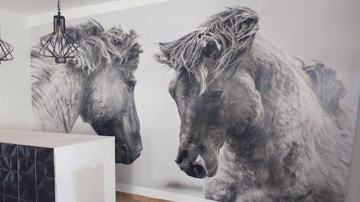 جدران تنفيذ Ambientes con Arte