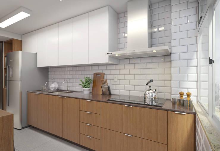 Cocinas de estilo  por Filipe Castro Arquitetura | Design