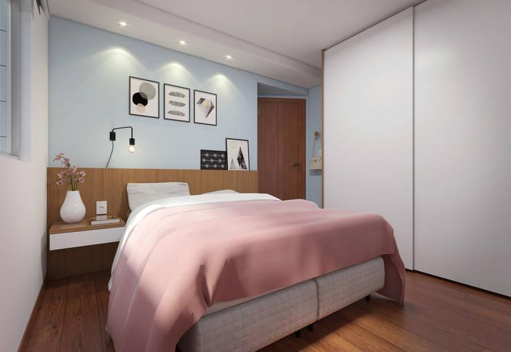 Cuartos de estilo moderno por Filipe Castro Arquitetura | Design