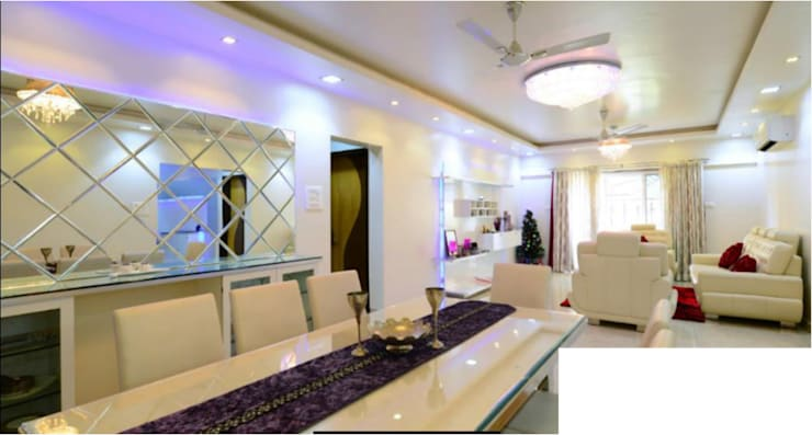 Some Previous Works:  Dining room by BVM Intsol Pvt. Ltd.