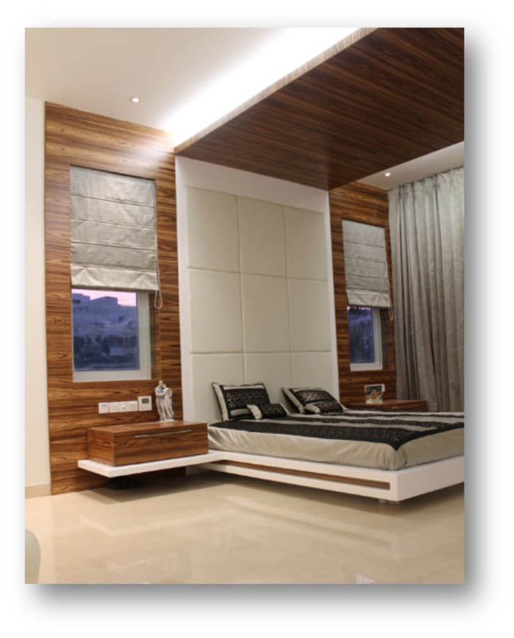 Some Previous Works:  Bedroom by BVM Intsol Pvt. Ltd.,Country