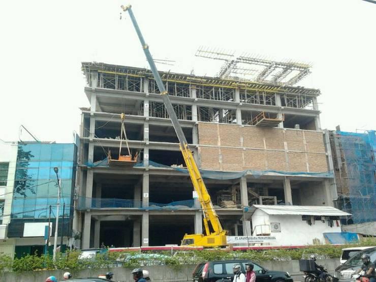 rental office rebuild :   by arsitek adin