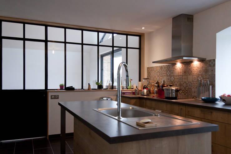 Projekty,  Kuchnia zaprojektowane przez Atelier Claire Dupriez