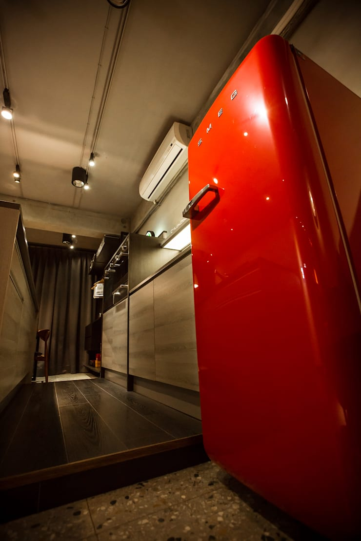 義大利SMEG原裝復刻板冰箱:  廚房 by 橙風廚具