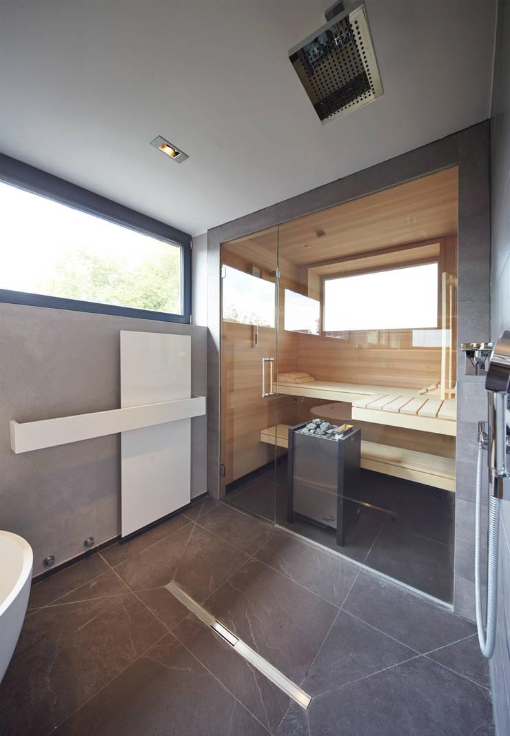 offene Sauna:   von Raumgespür Innenarchitektur Design