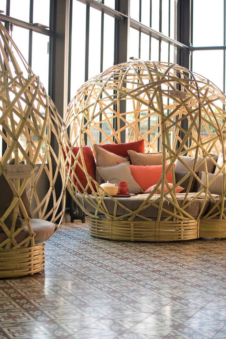 cocons en bambou par déambulons | homify