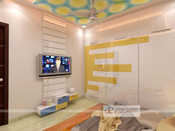Residence at Rohini, New Delhi:  Nursery/kid's room by Design Essentials