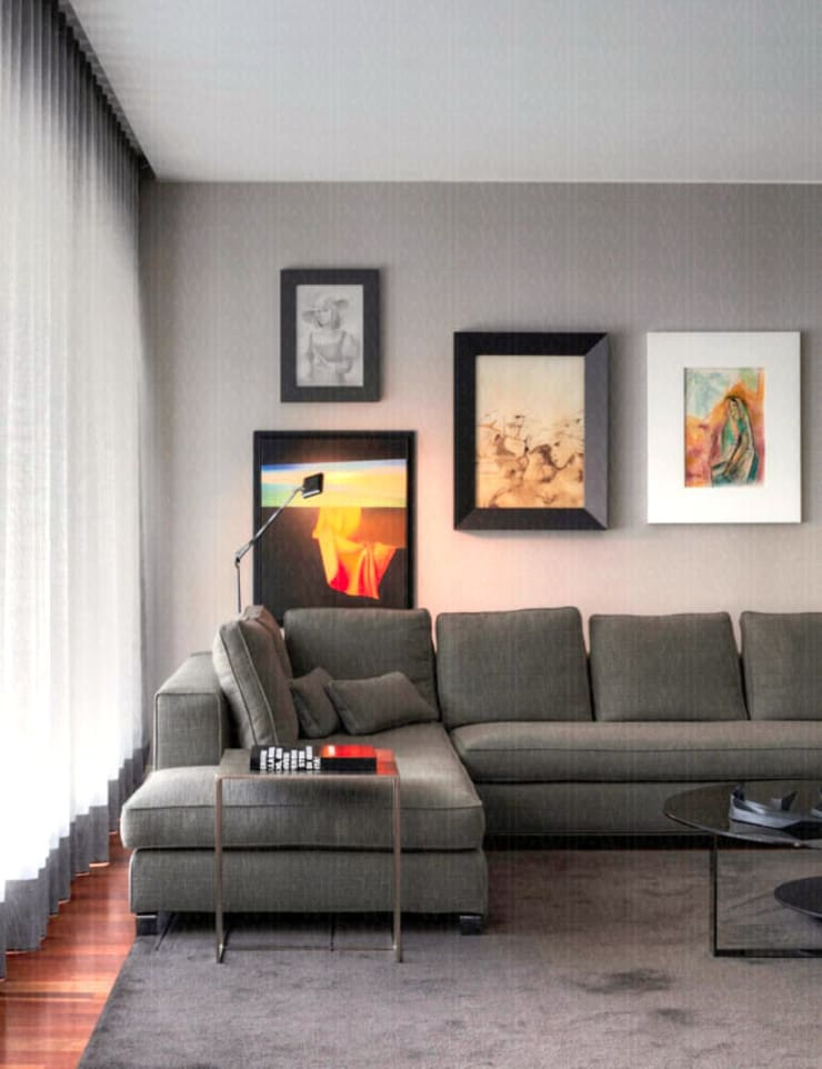 Living room by INAIN Interior Design