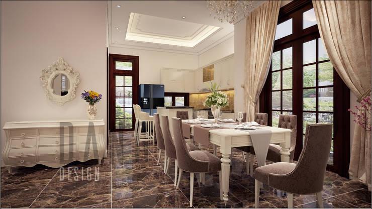 không gian phòng ăn:  Phòng ăn by DCOR