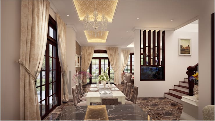 Dining room by DCOR
