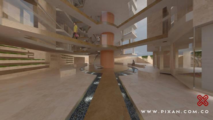 EDIFICIO PIXAN:  de estilo  por Edificio PIXAN, Moderno