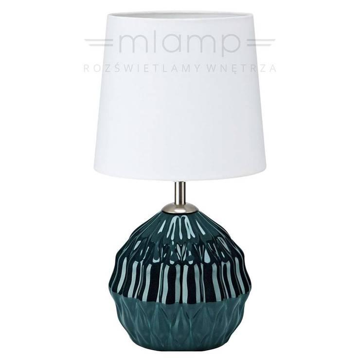 Dekoracyjne Lampy Stołowe W Modnych Kolorach