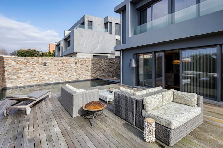Patios & Decks by INAIN Interior Design