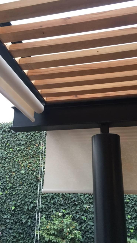 Detalles:  Patios & Decks by Hall Arquitectos
