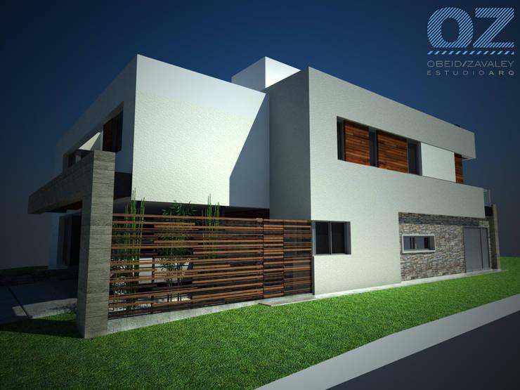 Casas de estilo  de OZestudioArq, Minimalista