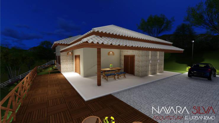 房子 by Nayara Silva - Arquitetura e Urbanismo