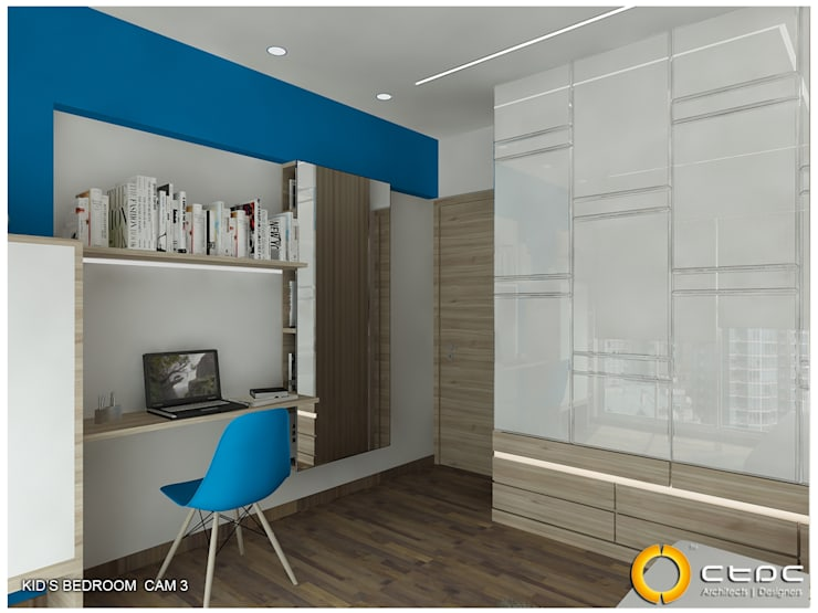 RESIDENCE DESAI 3D:  Hotels by ctdc,Modern