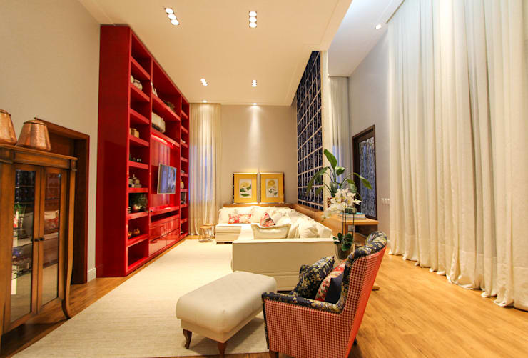 modern Living room by Pavesi Arquitetura
