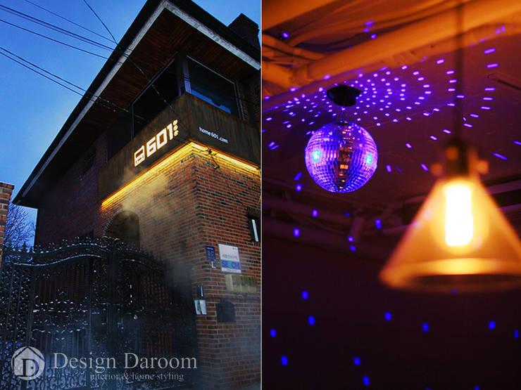 601 Guest House 강남: Design Daroom 디자인다룸의  주택
