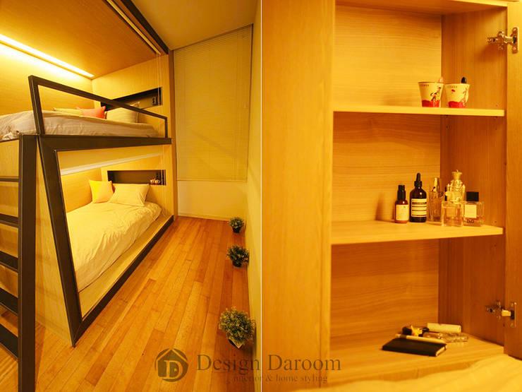 601 Guest House 강남: Design Daroom 디자인다룸의  침실