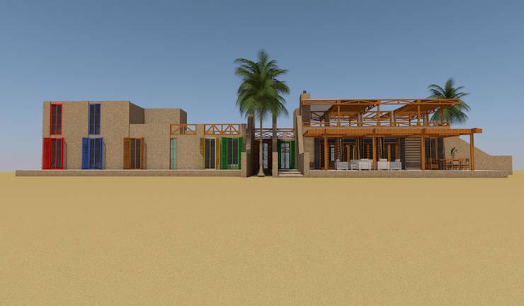 Casa de Campo, Lunahuaná, Cañete, Lima: Casas de estilo  por MGR,