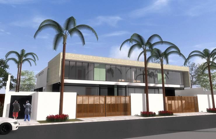 El Velero 340, Las Lagunas, La Molina, Lima: Casas de estilo  por MGR