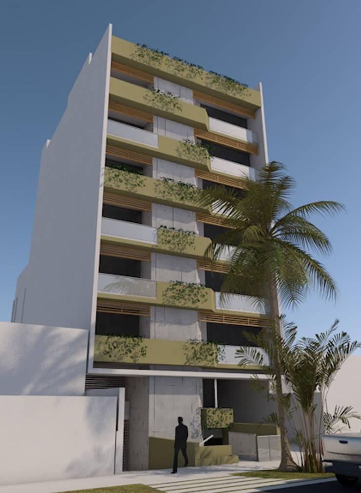San Fernando 175, Miraflores, Lima: Casas de estilo  por MGR