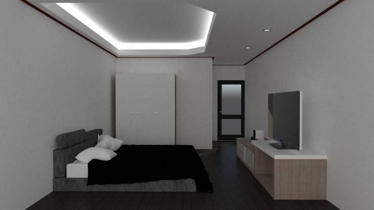 ห้องนอน:   by ออกแบบเขียนแบบ 2D-3D