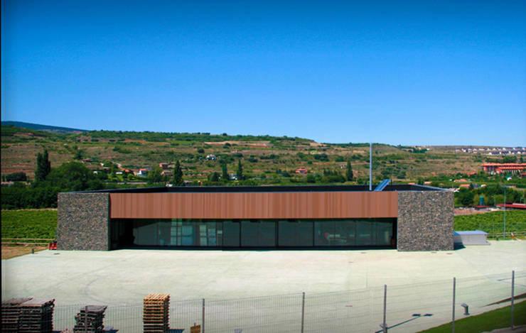 Bodega Nivarius: Casas de estilo moderno de Rafael Hernáez Loza AITEC Proyectos