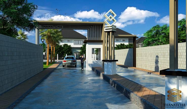 3d โครงการหมู่บ้าน:   by MaxShop