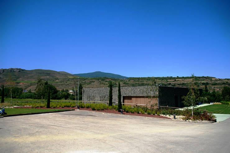 Bodega Palax: Casas de estilo moderno de Rafael Hernáez Loza AITEC Proyectos
